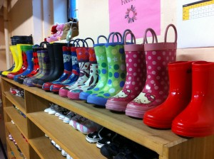 Rain Boots at CCE
